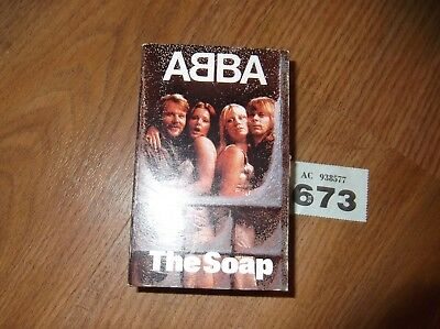 ABBA SOAP  ( CASSETTE SHAPED ) BOXED 1970's