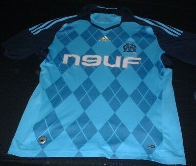 Olympic Olympique de Marseille France Soccer Football Medium Mans Home Jersey