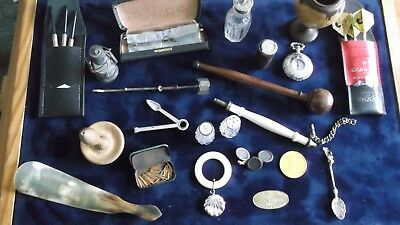 Outstanding Job Lot Of Antique/vintage Collectibles/ Curios + Silver £9.99 Gex6