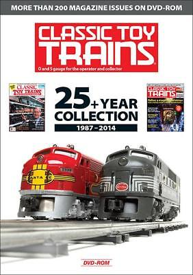Classic Toy Trains: 25+ Year Collection 1987-2014 DVD-ROM Collector Reference
