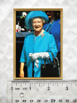 1991 Panini sticker Royal Family No. 33 Queen Mother