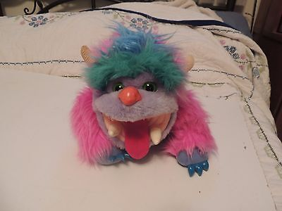 Vintage MY MONSTER PET WOGSTER Plush Toy 1986 MY PET MONSTER VGUC