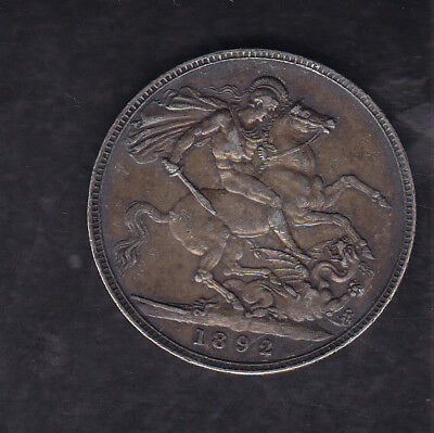 1892 Great Britain Silver Crown