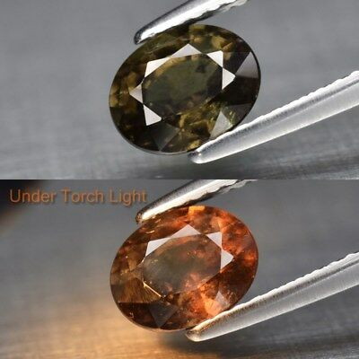 1.36ct 7x5.5mm Oval Natural Unheated Color Change Garnet, Africa