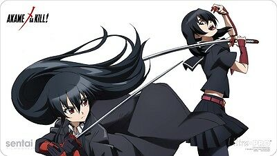 Akame ga Kill! Akame & Kurome play mat / playmat - Official by Ultra PRO *NEW*