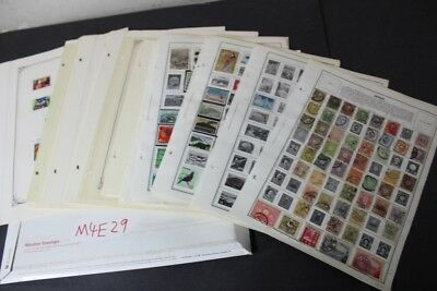 CKStamps: Large unchecked Mint & Used Japan & Ryukyus Stamps Collection in Pages