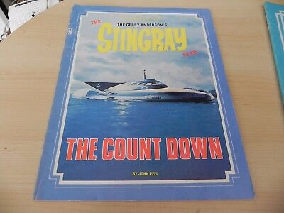 1986 Stingray Files Book Episode Guide Series 1, The Count Down,  1-39 John Peel