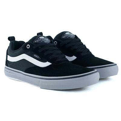 Vans Kyle Walker Pro Black Frost Grey White Skate Shoes New In Free Delivery