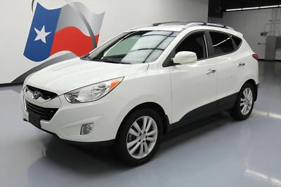 2013 Hyundai Tucson  2013 HYUNDAI TUCSON LIMITED HTD LEATHER ROOF RACK 49K #579549 Texas Direct Auto