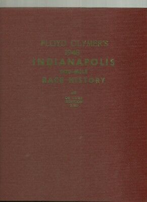1948 Indianapolis 500-Mile Race History Deluxe Edition Floyd Clymer Mauri Rose