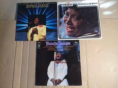 Mahalia Jackson - Welcome To Europe / Weihnachtslieder / Pickup  - 3 Lp