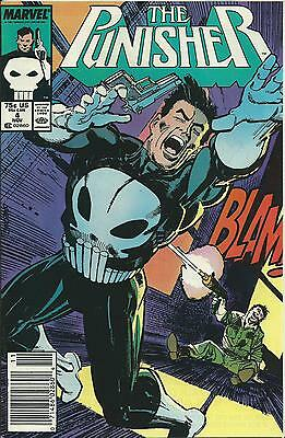 Punisher #4 (Marvel)  1St Series 1987 (Nm-)