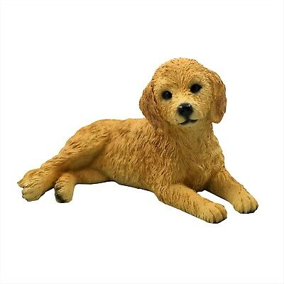 Goldendoodle Dog Hand Painted Collectable Figurine Statue