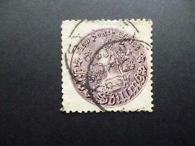 NEW SOUTH WALES :- 1885 : SG179 : 5s Purple, Used.