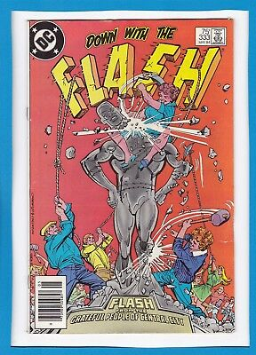 """The Flash #333_May 1984_Very Fine_Pied Piper_""""down With The Flash""""!"""