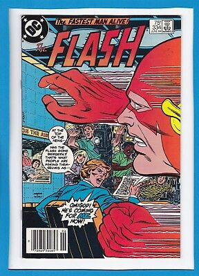 """The Flash #334_June 1984_Very Fine+_Pied Piper_""""flash Freak-Out""""!"""
