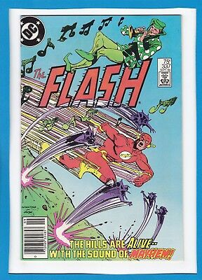 The Flash #337_September 1984_Near Mint Minus_Pied Piper_Captain Boomerang!