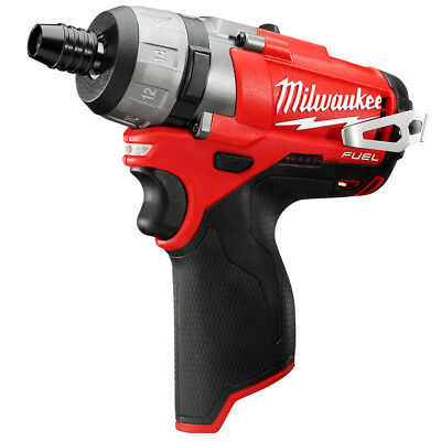 Milwaukee 2402-20 M12 FUEL 12-Volt 1/4-Inch Hex 2-Speed Screwdriver w/ Belt Clip