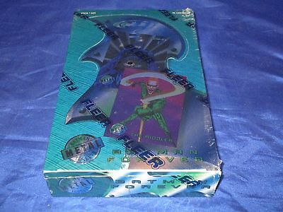 Fleer Batman Forever Metal Trading Cards Full Box 36 Packs Still Sealed  1995