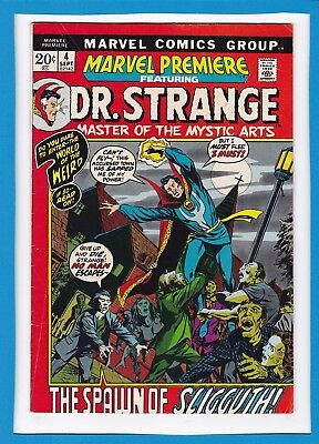 Marvel Premiere #4_September 1972_Vf Minus_Dr. Strange_Barry Smith_Bronze Age!