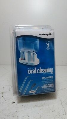 Waterpik Family Oral Cleaning System-Oral Irrigator,Tongue Cleaner- New in Box