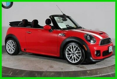 2014 Mini Convertible S JCW EXTERIOR CITY PACKAGE ALWAYS OPEN XENON HEAD 2014 MINI Convertible Red S JCW EXTERIOR CITY PACKAGE ALWAYS OPEN XENON HEAD FWD