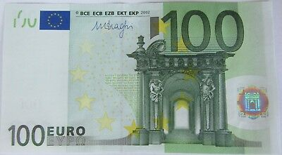 European Union / Germany (X) 2002 100 Euro € note - very nice authentic bill