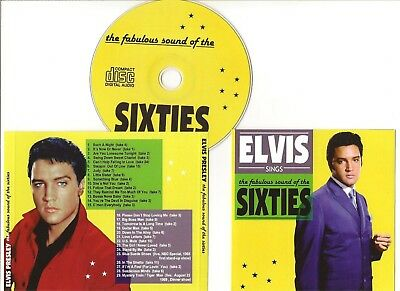 """Elvis Presley Cd """"The Fabulous Sound Of The Sixties"""" 2013 Suspicious Minds Judy"""