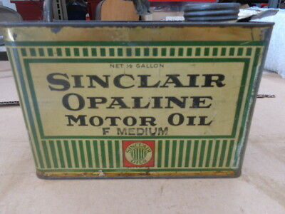 Sinclair Opaline Motor Oil Can MT-1425