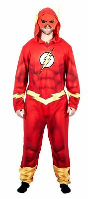 Adult Unisex Justice League America The Flash Union Suit Costume Pajama