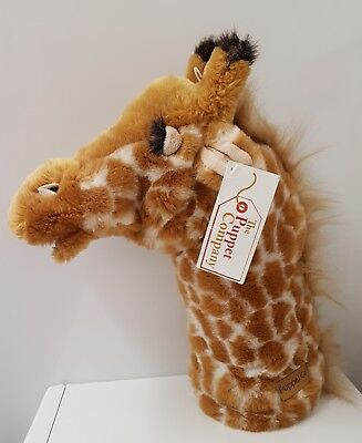 Reduced AGAIN!!! - GIRAFFE Long Sleeved Puppet The Puppet Company NEW with TAG
