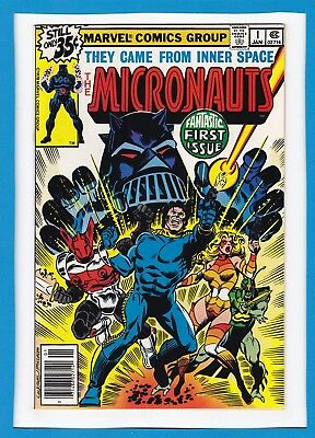 Micronauts #1_January 1979_Very Fine_Fantastic First Issue_Bronze Age Marvel!
