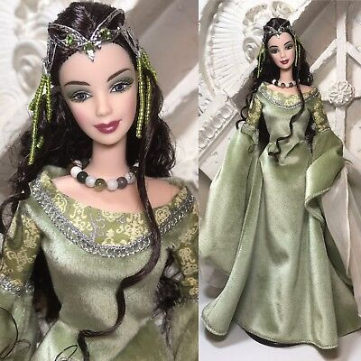 Mattel Barbie Collector Fashion Doll Mint Lord Of The Rings Arwen Liv Tyler ~