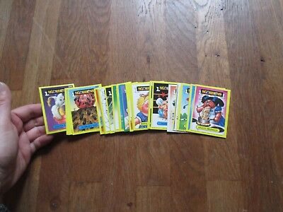 TRADING CARDS SGORBIONS lot de 32 differentes