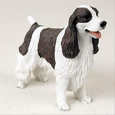 Springer Spaniel Liver Dog Hand Painted Canine Collectable Figurine Statue