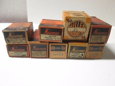 Meissner Coil Lot Boxed See Specs In Photos.