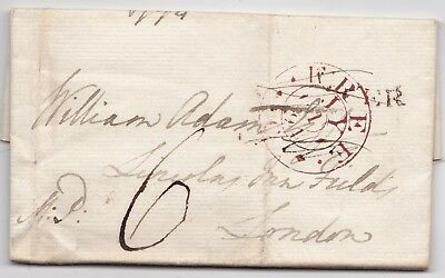 1794 FREE DELETED INTR CONTENT DOVER LETTER TO Wm ADAM LORD MOIRA ARMY AT BRUGES