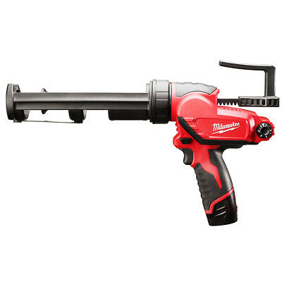 Milwaukee 2441-20 M12 12-Volt 10-Ounce Caulk And Adhesive Gun - Bare Tool