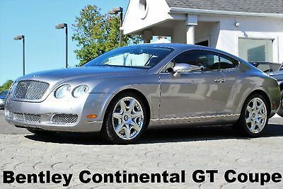 """2005 Bentley Continental GT GT Coupe 2005 ONLY 62K Miles 20"""" Wheels Yearly Service Just Performed Gray Auto AWD"""
