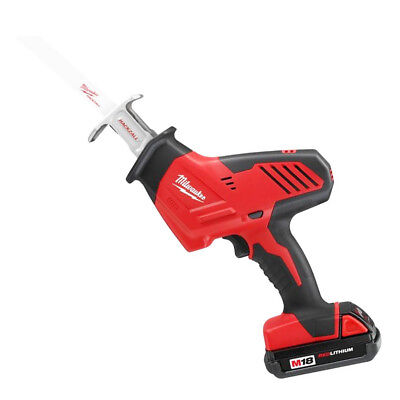 Milwaukee 2625-21CT M18 18-Volt HACKZALL Reciprocating Saw w/ Battery