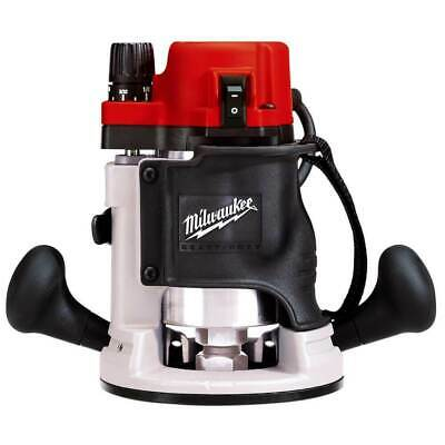 Milwaukee 5615-21 120 AC/DC 1-3/4 Max HP BodyGrip Router Kit with Wrenches
