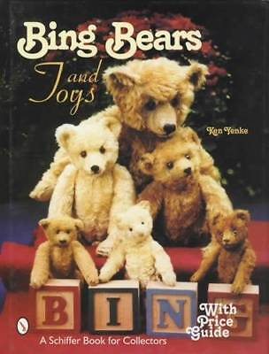 Vintage Bing Teddy Bears, Stuffed Animals & Antique Toys Collectors Guide
