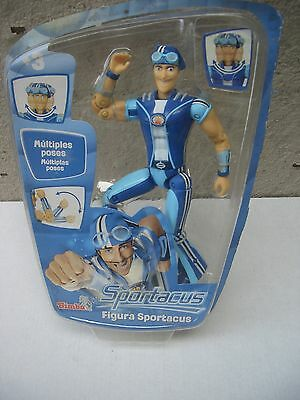 Lazy Town Sportacus New & Sealed Multiple Poses Simba DAMAGED PACKAGING