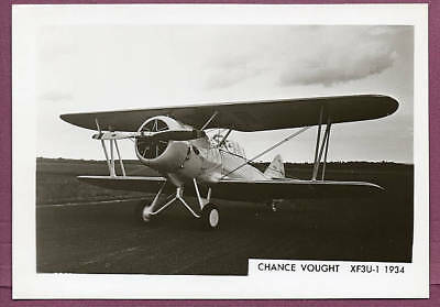 1934 USAAF Chance Vought XF3U-1 Navy Biplane Fighter Photo