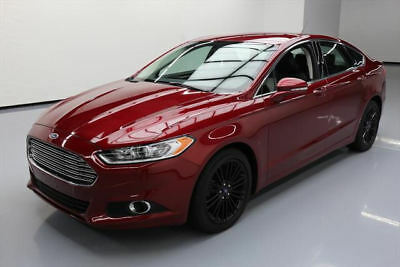 2016 Ford Fusion SE Sedan 4-Door 2016 FORD FUSION SE TECH ECOBOOST HTD LEATHER NAV 54K #138681 Texas Direct Auto