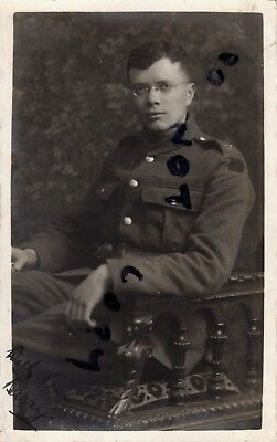 WW1 Soldier Royal Engineers Spr H B Bradshaw Bonn 1919 Rhine Army of Occupation