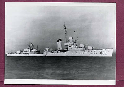 1930s Destroyer DD-413 USS Mustin US Navy Photo