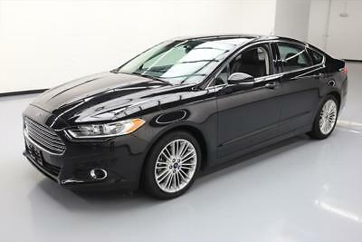 2015 Ford Fusion SE Sedan 4-Door 2015 FORD FUSION SE ECOBOOST HTD LEATHER REAR CAM 34K #118326 Texas Direct Auto