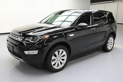 2015 Land Rover Discovery  2015 LAND ROVER DISCOVER SORT HSE LUX AWD PANO NAV 22K #540767 Texas Direct Auto