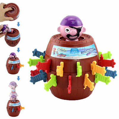 Kids Super Pop Up Toy Jumping Pirate Board Game Lucky Funny Tricky Family Toy